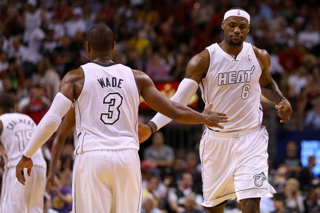 Anything Dwyane Wade Can Do, LeBron James Is Doing Better