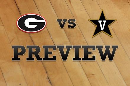 Georgia vs. Vanderbilt: Full Game Preview