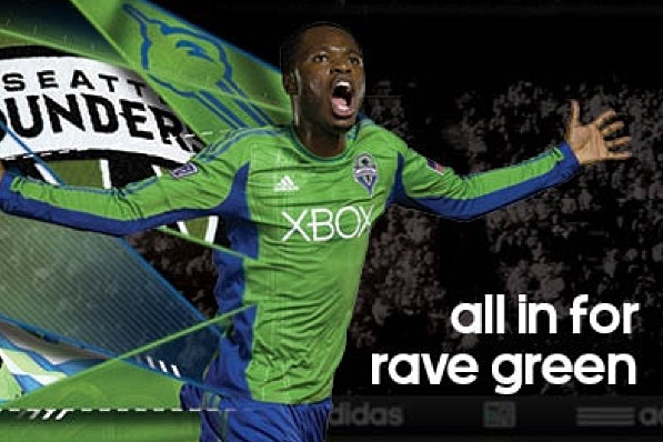 Sounders Unveil New 2013 Kits
