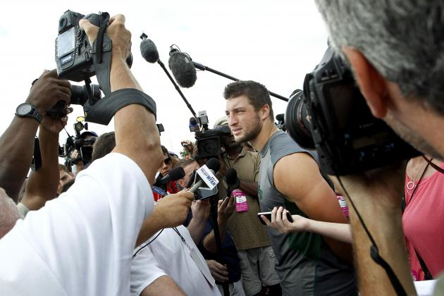 Tim Tebow: Tebowmania Will Keep NFL Teams from Trading for Jets QB