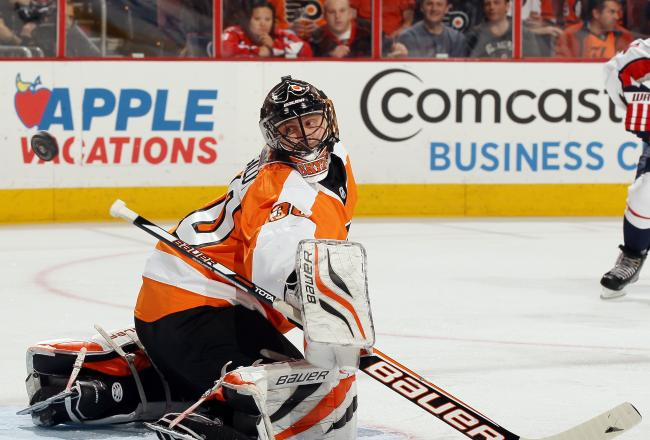 Can Bryzgalov get the shutout of the Caps?