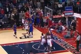 Wizards Broadcaster Mistakes an Airball for the Game-Winning Shot (VIDEO)