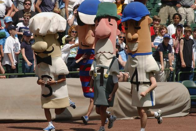 Brewers' Racing Sausage Recovered
