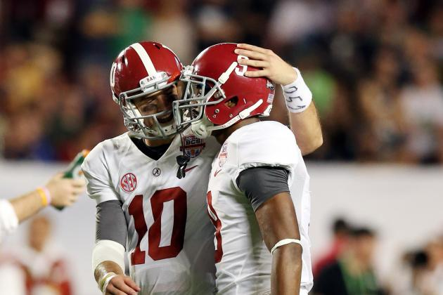 Alabama Football: Breaking Down 2013 Expectations for Tide's Top Offensive Stars