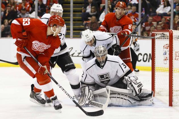 ESPN Gamecast: Red Wings vs. Kings