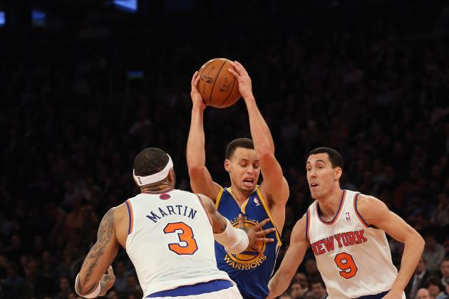 Stephen Curry Proves to Be Among the Best in David Lee's Absence