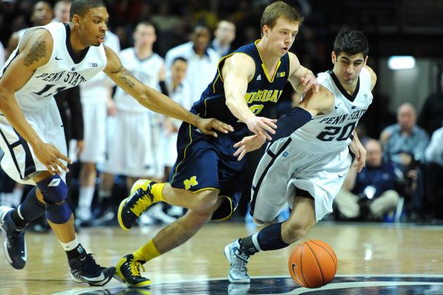 U-M Relinquishes Second-Half Lead to Fall at Penn State