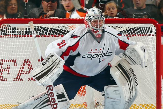 Philipp Grubauer Makes NHL Debut as Braden Holtby Gets Pulled