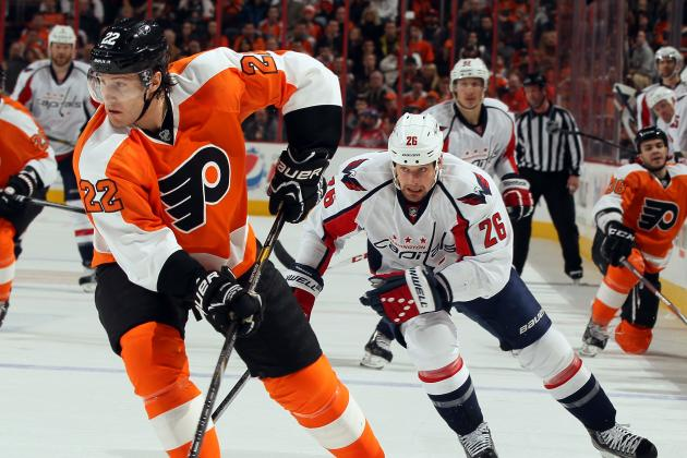 Capitals Lifeless in Loss to Flyers