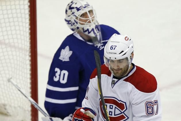 Habs Score Three Times in 3rd to Upend Leafs