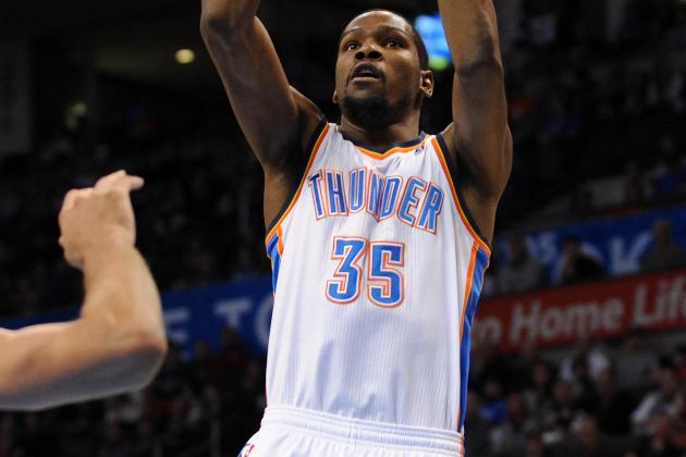 Kevin Durant's Triple-Double Keys Thunder Win over Hornets