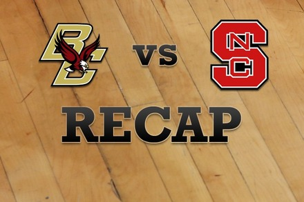Boston College vs. NC State: Recap, Stats, and Box Score
