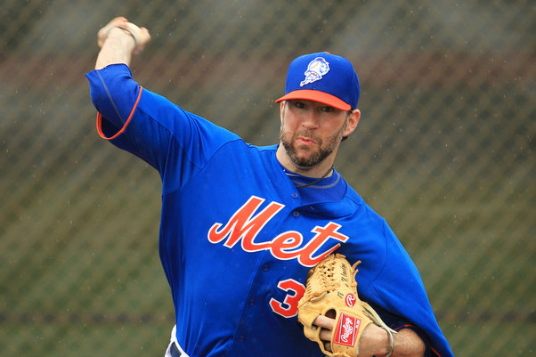 Mets Remove Shaun Marcum from Rotation to Build Arm Strength