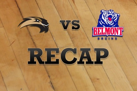 SIU Edwardsville vs. Belmont: Recap, Stats, and Box Score