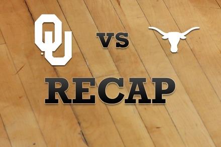 Oklahoma vs. Texas: Recap, Stats, and Box Score