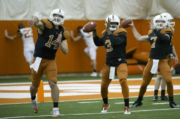 Texas Football Spring Practice: Everything You Need to Know About the QBs