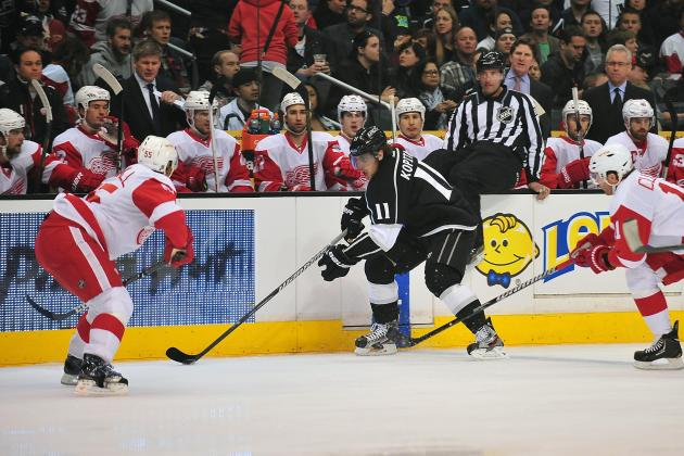 Kings 2, Red Wings 1