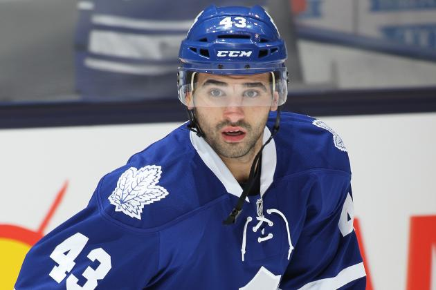 Maple Leafs' Nazem Kadri Finally Getting Defence Down