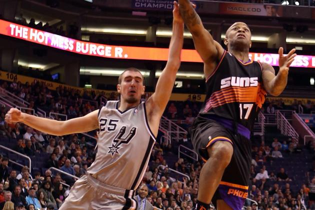 Suns Snap Spurs' 18-Game Home Streak in OT