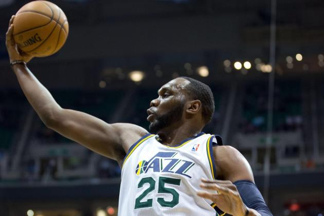 Jazz Limp Through 102-91 Home Loss to Hawks