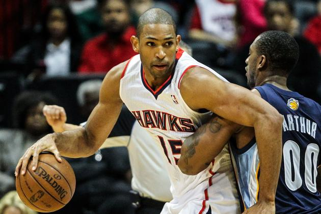 Horford Scores Career High in Hawks Win over Jazz