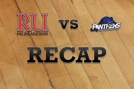 Radford vs. High Point: Recap, Stats, and Box Score