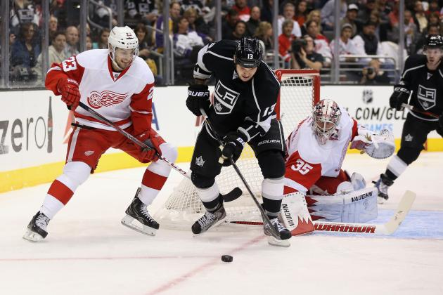 Detroit Red Wings Blow Third Period Lead, Lose 2-1 to the Los Angeles Kings