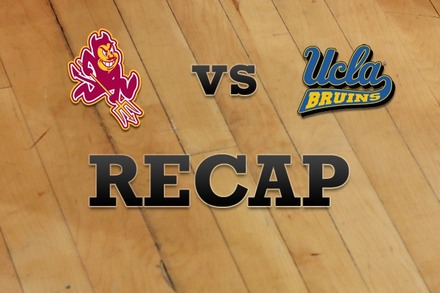 Arizona State vs. UCLA: Recap, Stats, and Box Score