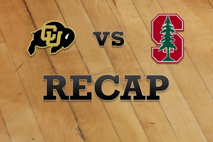 Colorado vs. Stanford: Recap, Stats, and Box Score