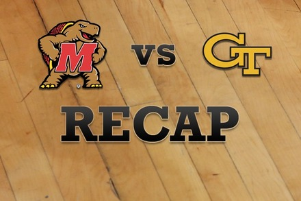 Maryland vs. Georgia Tech: Recap, Stats, and Box Score