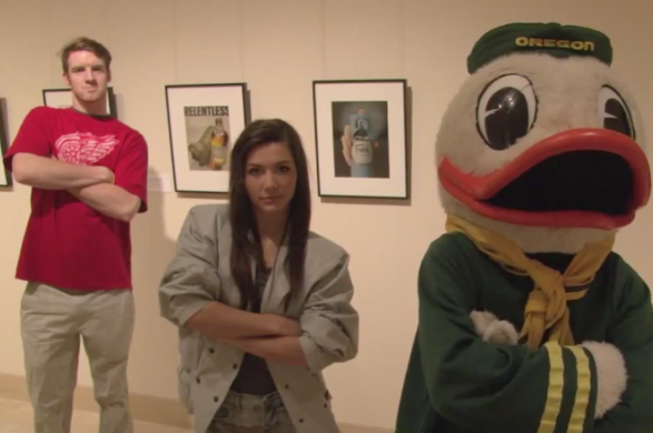 I Don't Know Why The Oregon Duck Is Parodying Ferris Bueller, But I Love It