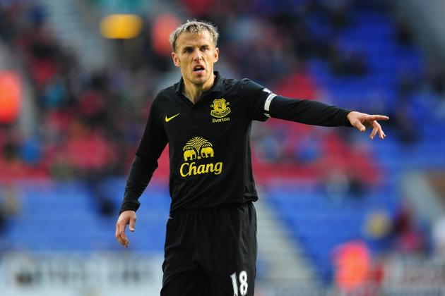The Value of Veteran Phil Neville for European Contenders Everton
