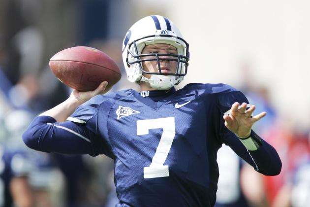BYUtv Interviews New BYU Football Quarterbacks Coach Jason Beck