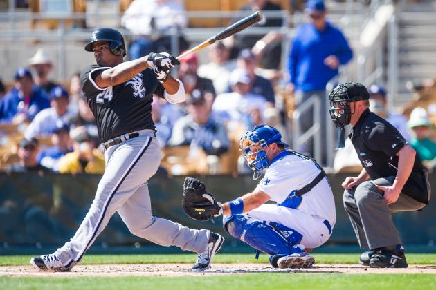 Sox' Outfielder Dayan Viciedo Adding Leg Kick to Swing
