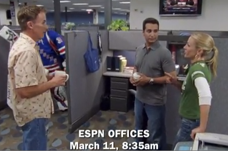 Video: Lundqvist Stars in Another SportsCenter Ad