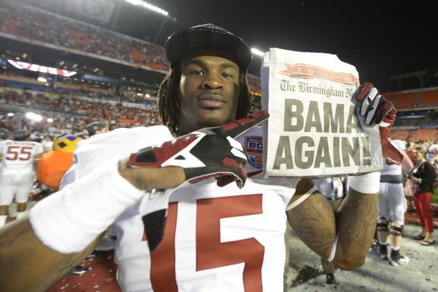 Nick Saban Had No Choice but to Dump Arrested Alabama Players
