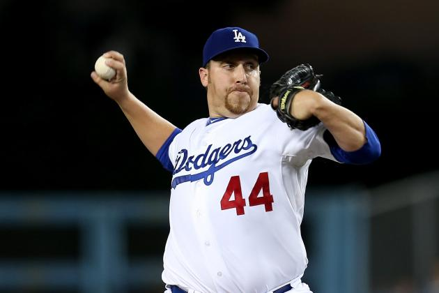 Dodgers Manager Don Mattingly Can't See Aaron Harang in Bullpen