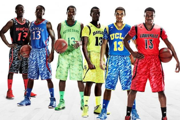 Adidas Releases New Uniforms for 6 Elite College Teams