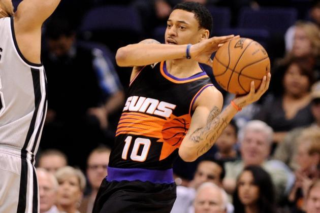 Phoenix Suns' Diante Garrett Getting His Chances