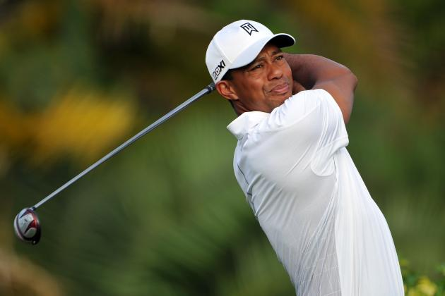 Tiger Woods Shoots Even-Par 70 in First Round of Honda Classic