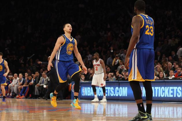 Yes, Stephen Curry Just Dropped 54 at Madison Square Garden