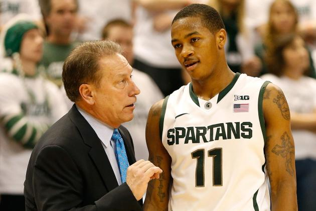 Michigan State Coach Tom Izzo Confident Keith Appling Will Bounce Back