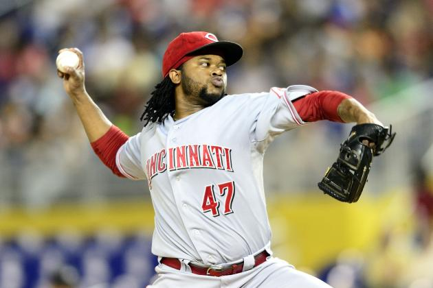 Cueto Healthy, Happy with Debut