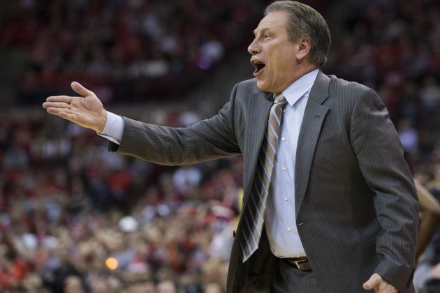 Coach Tom Izzo Happy to See Michigan State Players' Passion