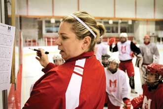 Amey Doyle a Key Fixture in Montreal Women's Hockey