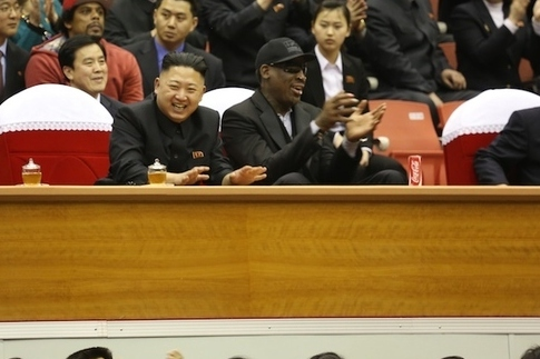 Dennis Rodman Gets His Koreas Mixed Up Tweeting to 'Gangnam Style Dude'