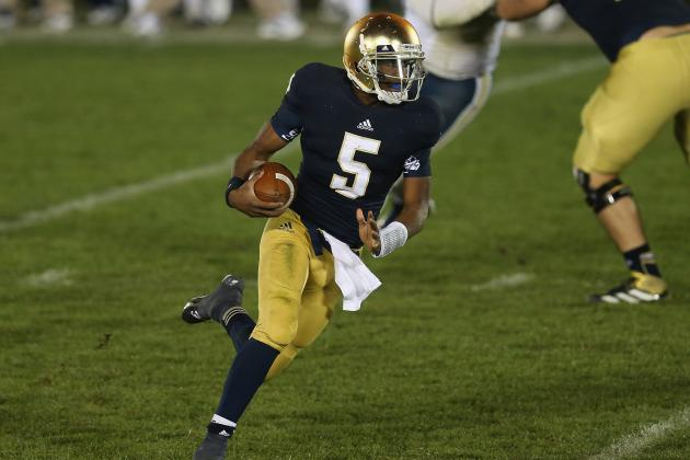 Notre Dame Football: Where Everett Golson Ranks Among Top Dual-Threat QBs