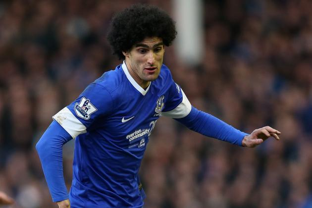 Everton Confident of Marouane Fellaini Return for FA Cup Quarters