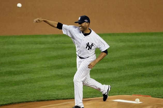 Yankees' Rivera Throws First Simulated Game