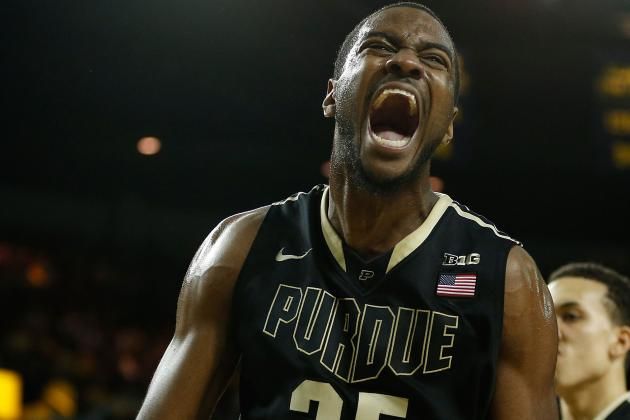 Davis Emerging as Leader of Freshman Pack for Purdue Men
